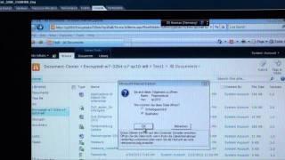 60 Sekunden mit Dr. Volker Scheidemann - Sicherheit und Verschlüsselung für Microsoft Sharepoint