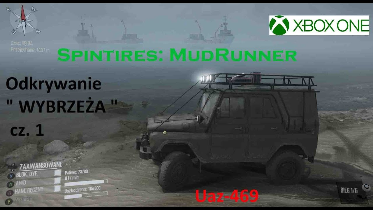 xbox one spintires mudrunner odkrywanie wybrze e. Black Bedroom Furniture Sets. Home Design Ideas