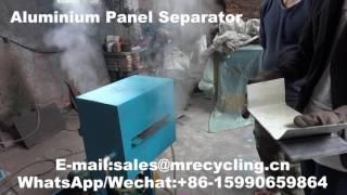 composite aluminium sheet separator video mp4