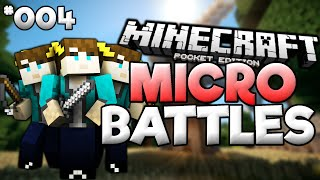 0.14.0 MICRO BATTLES SERVER! - Minecraft: Pocket Edition MICRO BATTLES #4 ||Cookie Build||