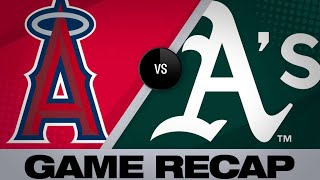 5/29/19: Angels score 5 in 11th to rally past A's