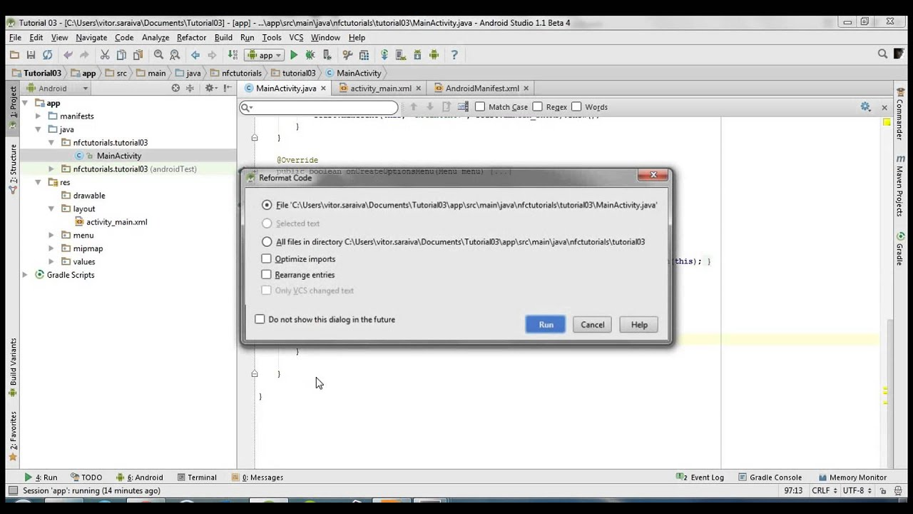 Android NFC Tutorial [03] - How to write text to a NFC tag