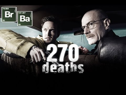 Breaking Bad  270 deaths in 5 minutes
