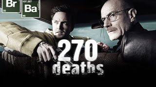 Repeat youtube video Breaking Bad || 270 deaths in 5 minutes