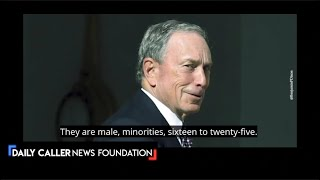 Caught On Tape! Bloomberg Says 95% Murderers Are Minorities - DC Shorts
