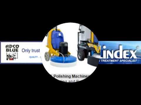 Floor Restoration Machines, Tools and Materials