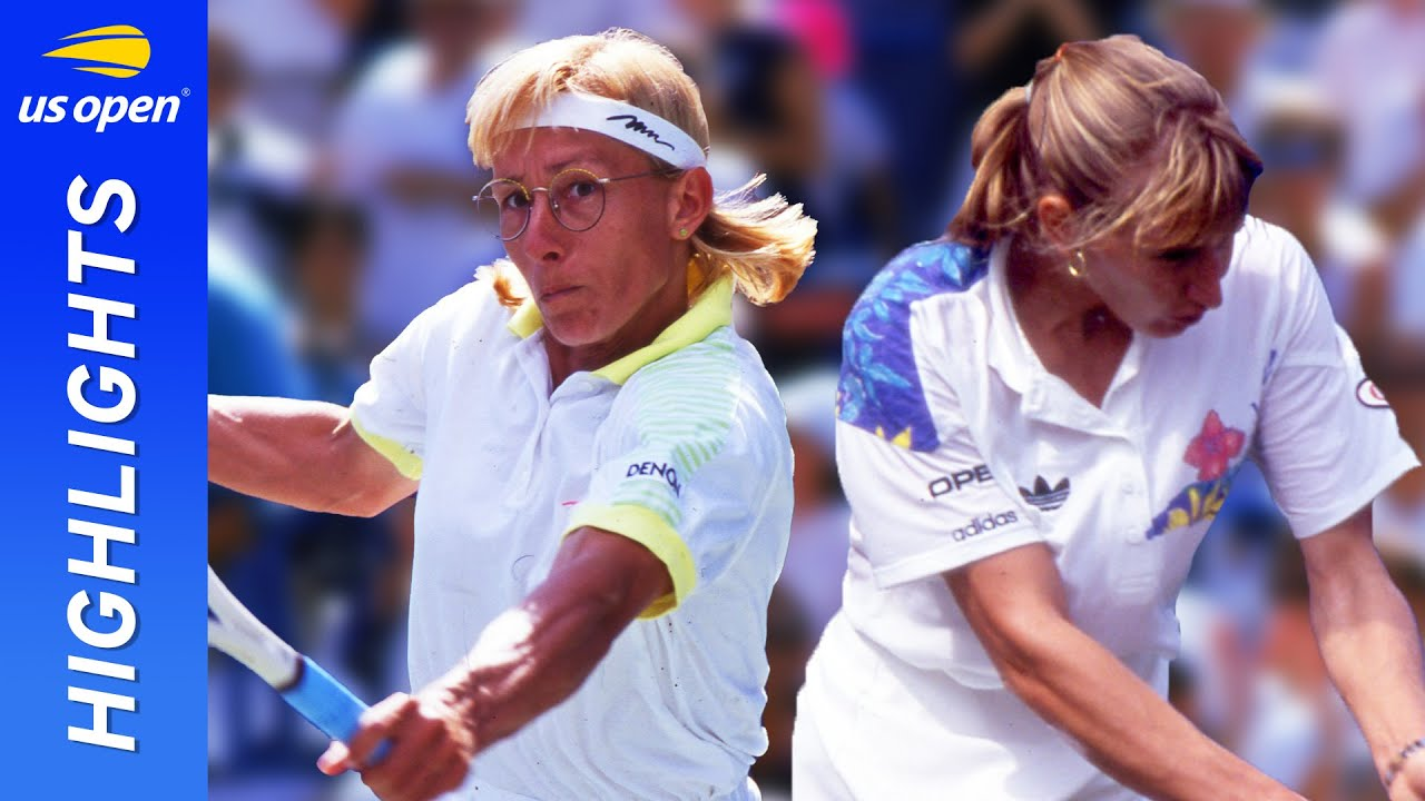 Martina Navratilova vs Steffi Graf in one of the greatest matches ever! | US Open 1991 Semifinal