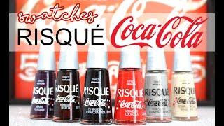 Swatches coleção Risqué Coca-Cola!