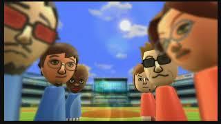 Wii Sports Baseball 2 player