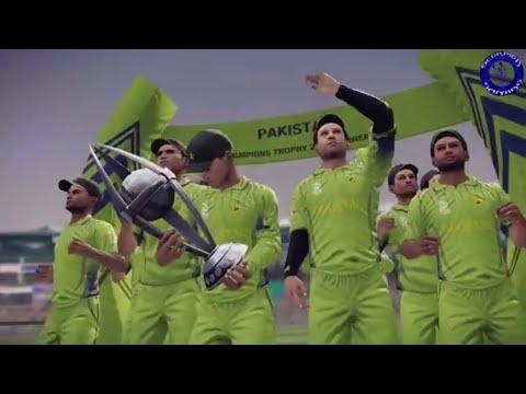 Pakistan Vs India | ICC Champions Trophy Final 2017 | DBC '14 Gameplay