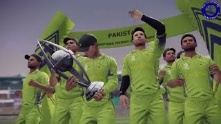 Pakistan Vs India | ICC Champions Trophy Final 2017 | DBC '14 Gameplay