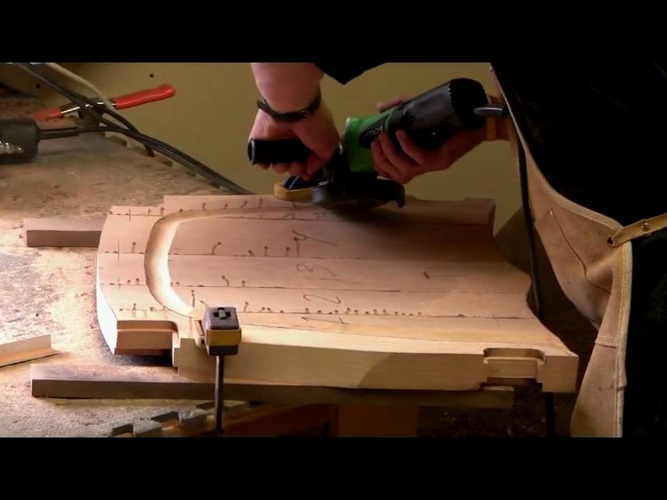 Sculpting a Maloof Chair Seat  by Scott Morrison