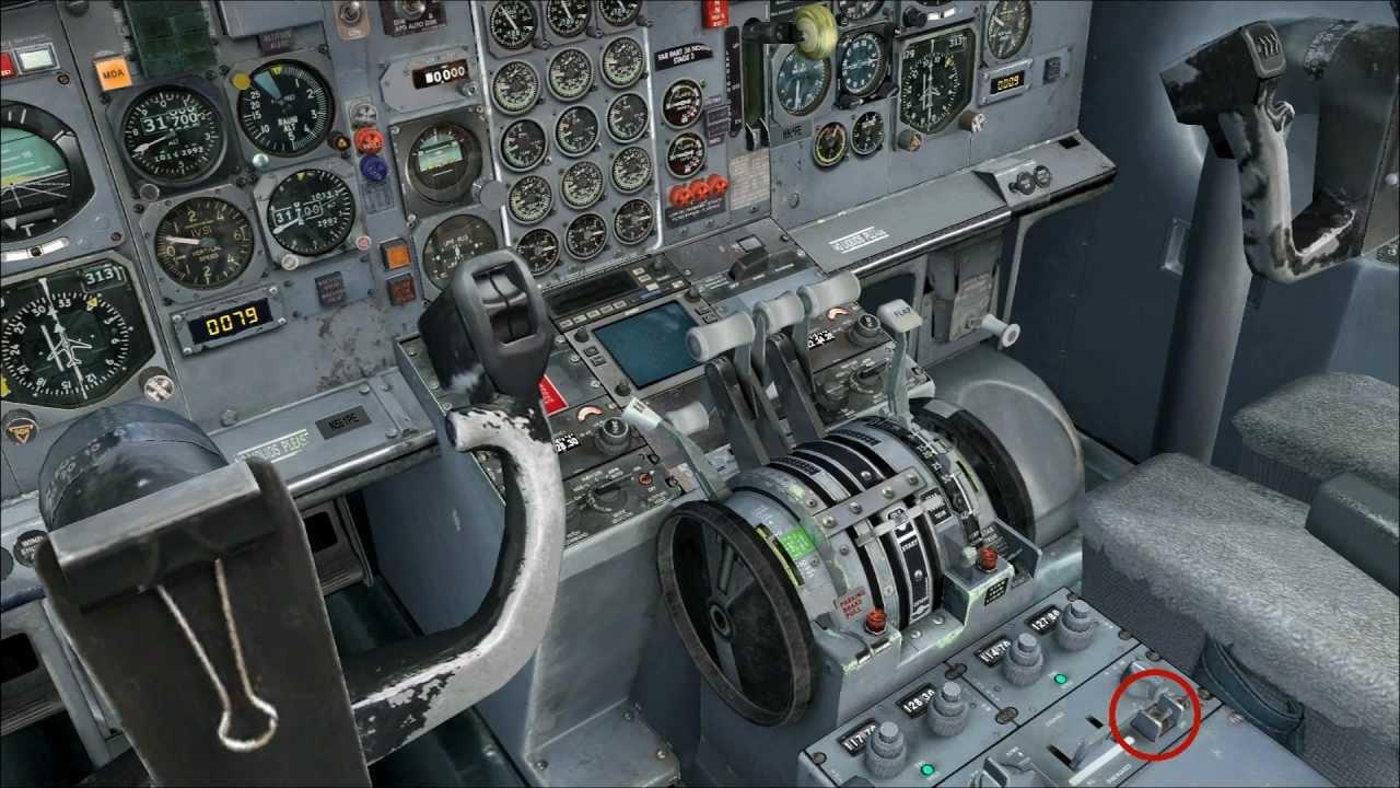 Boeing 737 200 Cockpit - 0425