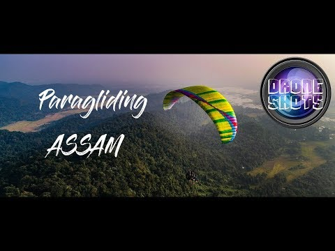 Paragliding in ASSAM
