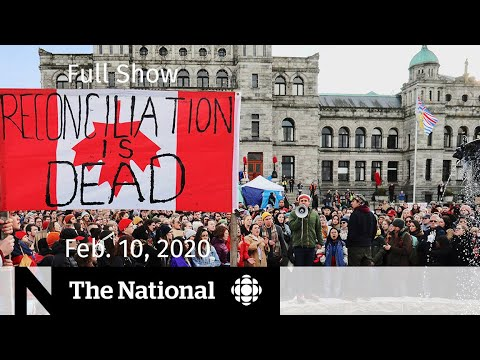 the-national-for-monday,-feb.-10-—-wet'suwet'en-solidarity-protests;-farmers'-mental-health