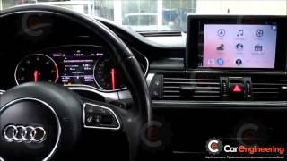 Яндекс Навигация Audi A6, A7 на штатный монитор