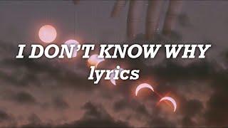 Imagine Dragons - I Don't Know Why (Lyrics)