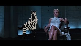 Zebra in Basic Instinct w/ Sharon Stone | #JustAddZebras | Last Week Tonight with John Oliver