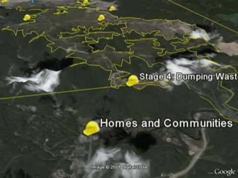 Appalachian Mountaintop Removal In Google Earth & Maps