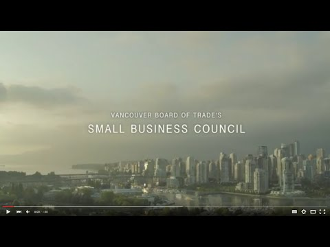 The Vancouver Board of Trade's Small Business Council