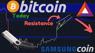 BITCOIN CORRECTION!!? | Brave Ads & The BAT Token | Samsung Coin Coming??