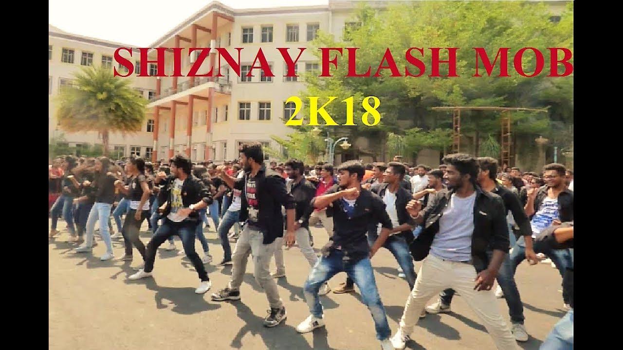 shiznay flash mob 2k18 tkr college of engineering youtube