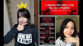 [Vlog] Ký sự đi concert G Dragon - Act III: MOTTE của Bi và Mi ở Mỹ