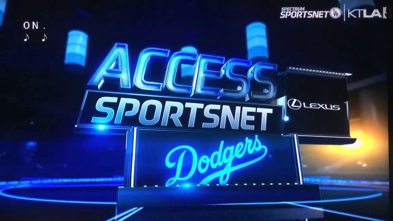 """KTLA 5/Spectrum SportsNet L.A. """"Access SportsNet: Dodgers ..."""