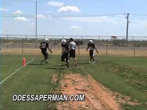 Permian Panthers JV Black 36 Lee Maroon 14
