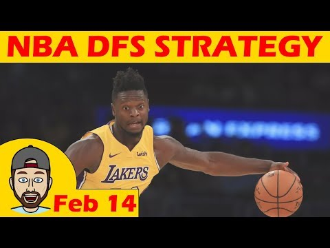 NBA DFS Projections & Strategy | Wednesday 2/14 | FanDuel & DraftKings