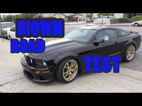 Whipple Blown Mustang GT Road Test.  Go for a ride.  Nelson Racing Engines.