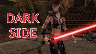 Jedi Knight: Jedi Academy Walkthrough Part 30 - Korriban - Full Dark Side Gameplay (PC HD 60FPS)