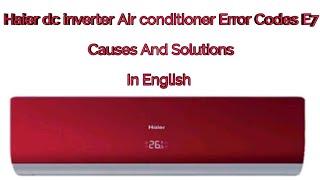 Haier Dc Inverter Error Code - Swdigital