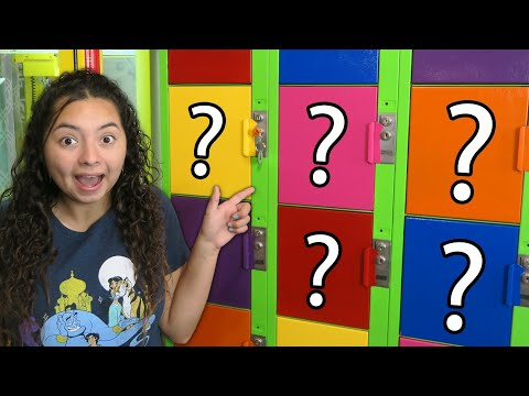 What's inside the lockers?!