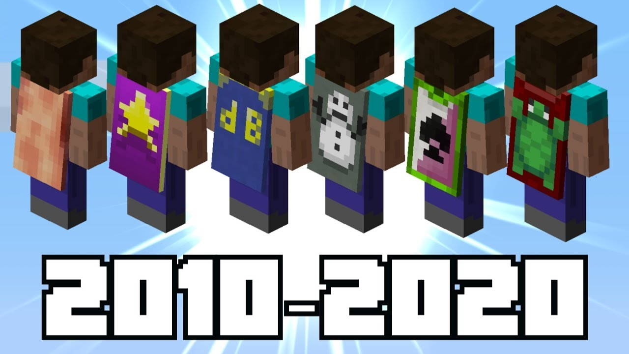 The History of Minecraft's RAREST Capes