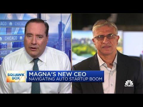 Magna International's new CEO Kotagiri on navigating the auto startup boom