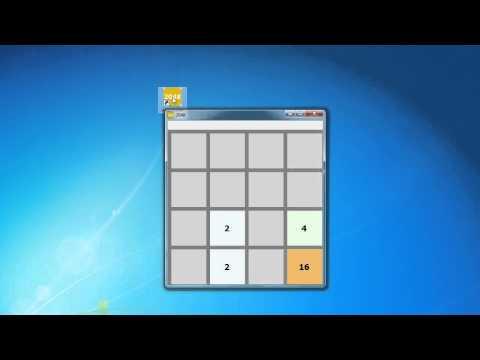 Видео-обзор игры 2048 для ПК.