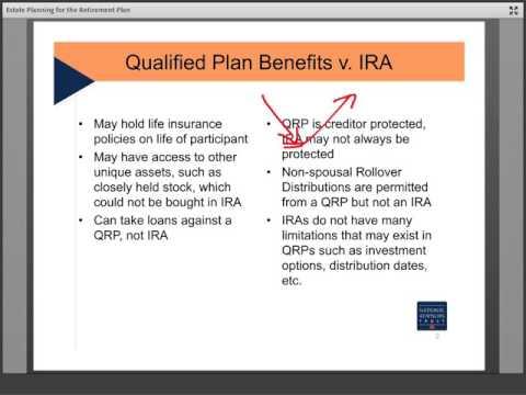 Trust Education: Estate Planning for Retirement Plans by National Advisors Trust Company FSB