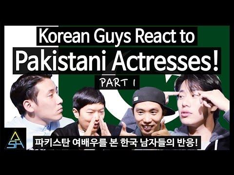 Korean Guys React to Pakistani Actresses...