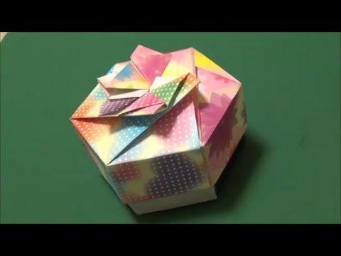 ハート 折り紙 折り紙 キャンディボックス : youtube.com