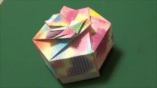 """「キャンディボックス」折り紙""""Candy box""""origami"""