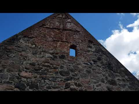 Å Church Ruin in Sweden