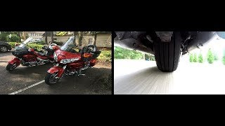Test ride Double Darkside Goldwings with JC pt 1.