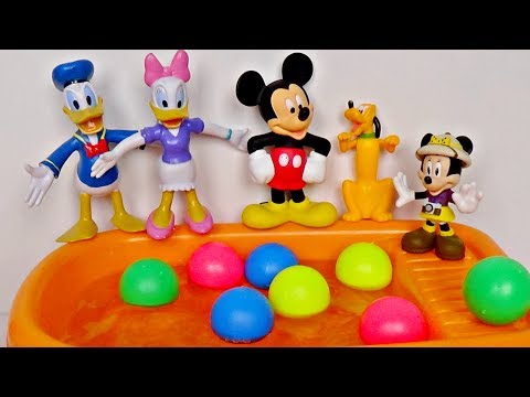 Five Little Mickey Jumping On The Bath │ Five Little Monkeys Jumping On The Bed