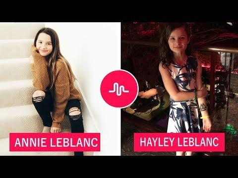 Annie LeBlanc VS Hayley Leblanc (Battle Youtube Stars) Musically Compilation 2018