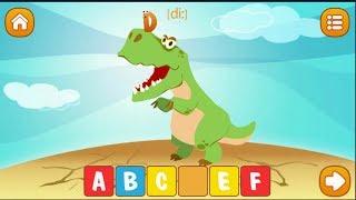 Английский алфавит для детей. Учим английские буквы и слова видео