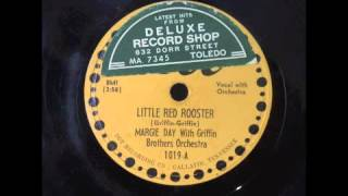 MARGIE DAY & THE GRIFFIN BROS. - LITTLE RED ROOSTER - DOT