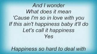 Ron Sexsmith - Happiness Lyrics