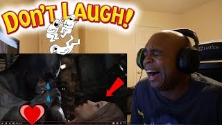 REACTING TO MY FIRST YOUTUBE VIDEO EVER!! - TRY NOT TO LAUGH CHALLENGE # 29