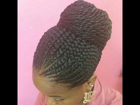 Lovely Pictures Of Ghana Braids Styles And Africa